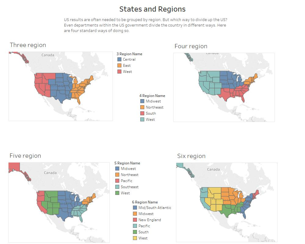 States and Regions